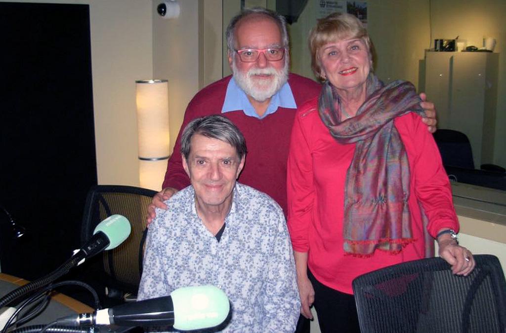 Pierrot et Jocelyne Tremblay à Radio VM